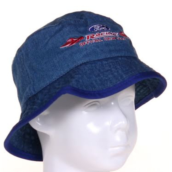 Other - 5/$25 Ford denim bucket hat Nascar